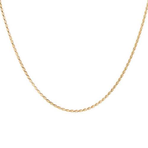 Rope Choker - 14k yellow gold plated