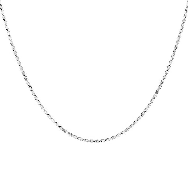 Rope Choker - sterling silver