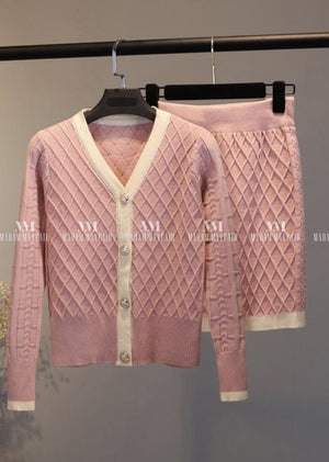 Evelyn Cardigan Two Piece Sets