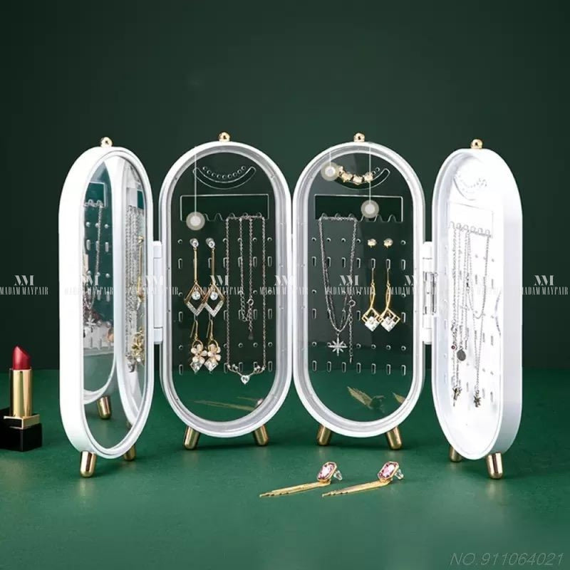 Foldable Jewellery Storage Display Box Accessories