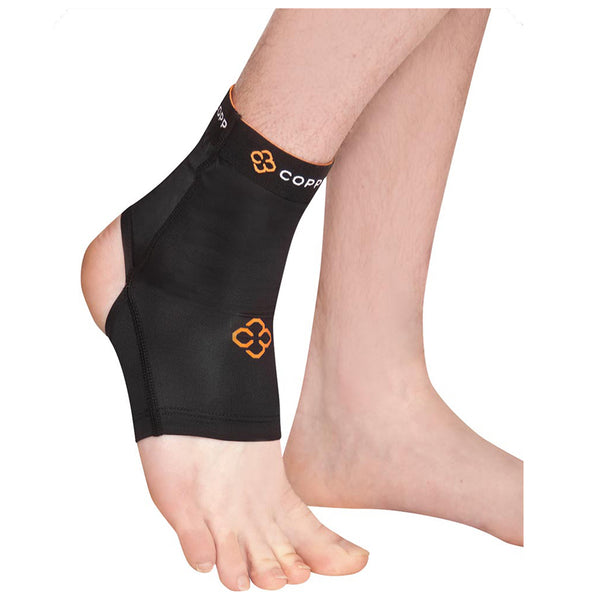 COPPER COMPRESSION ANKLE SLEEVE