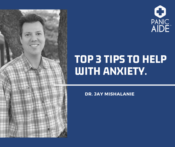 Top 3 Tips to Deal with Anxiety