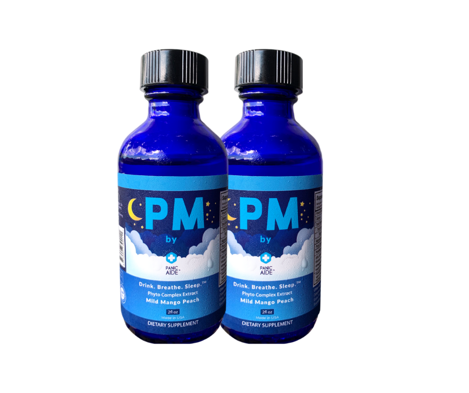 2 pack of PM Portable Sleep Shots - PanicAide