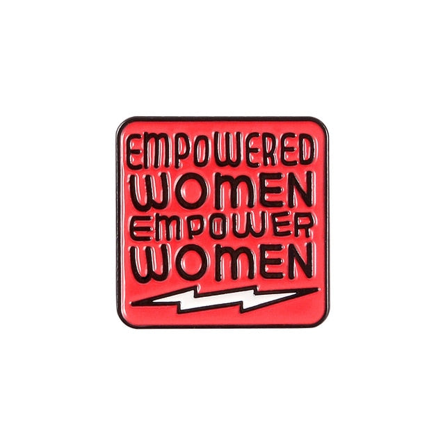 Empowered Women Pin