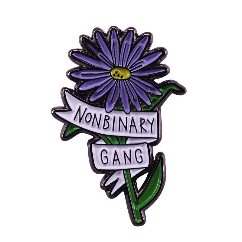 Non-Binary Gang Pin