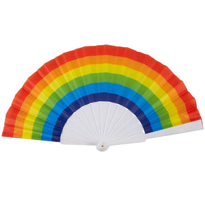 Rainbow Fans (Pack Of 6)