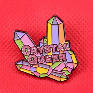 Crystal Queer Pin