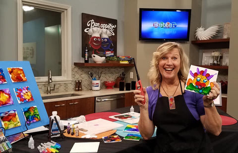 KCTV5's Better KC Show Segment: Painting with Flames