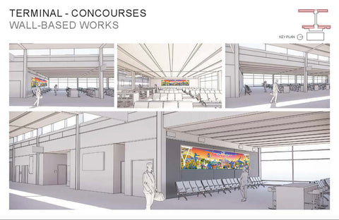 KCI Rendering with ARTwork virtually placed within