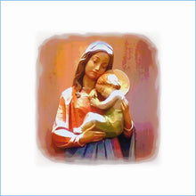 Load image into Gallery viewer, Madonna and Child Cure of Ars WARMED
