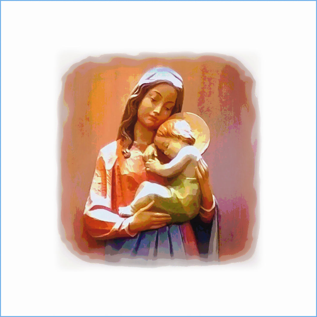 Madonna and Child Cure of Ars WARMED