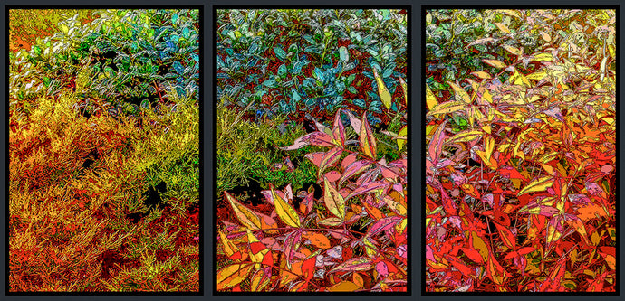 God's Profligacy, Autumn Tryptic #1, 2, 3