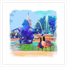 Load image into Gallery viewer, Plaza Fountain Geese