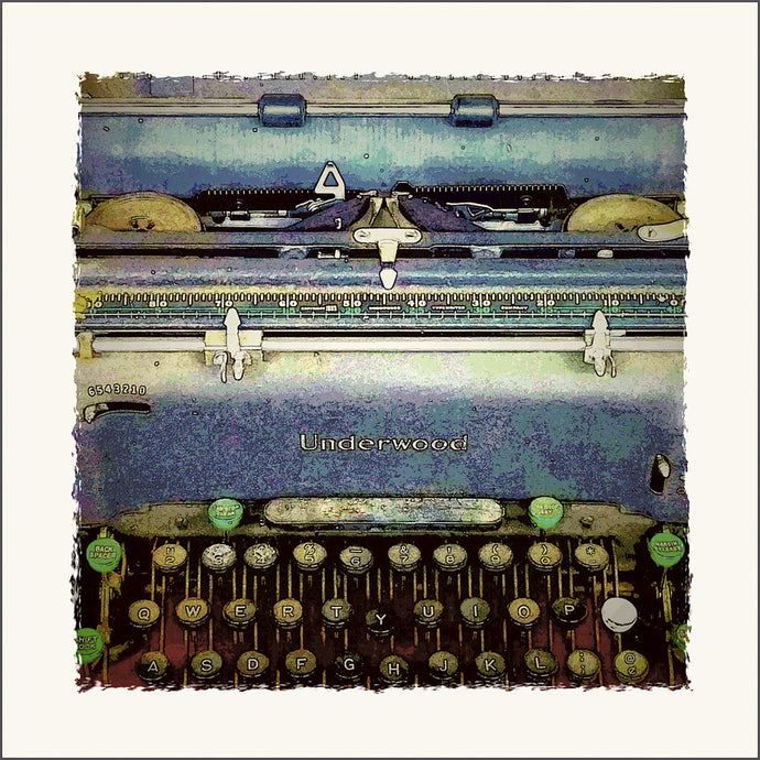Typewriter, Vintage Text