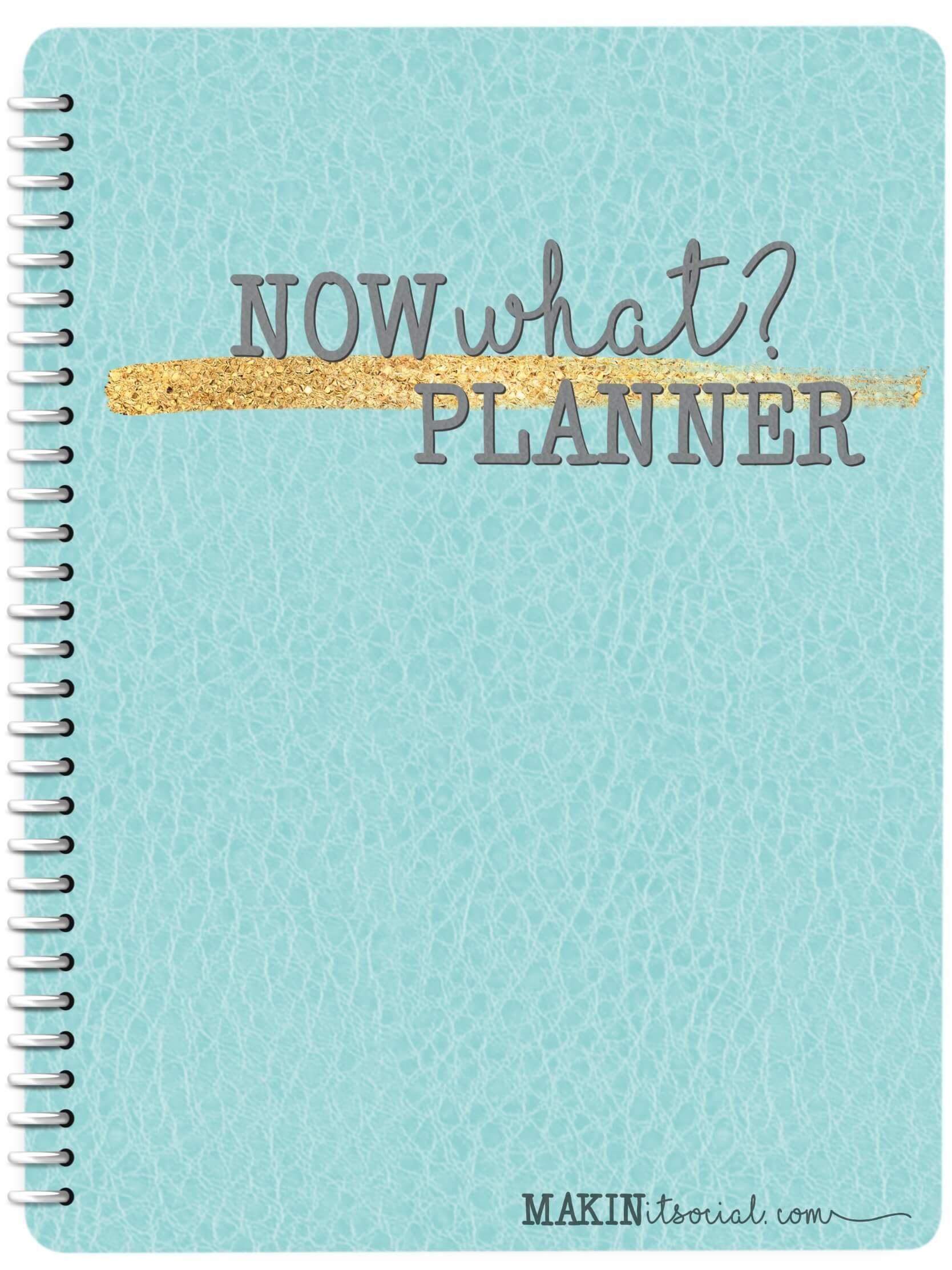 Makin it social Now What Digital Planner Your Ultimate Direct Sales System! Teal Dated