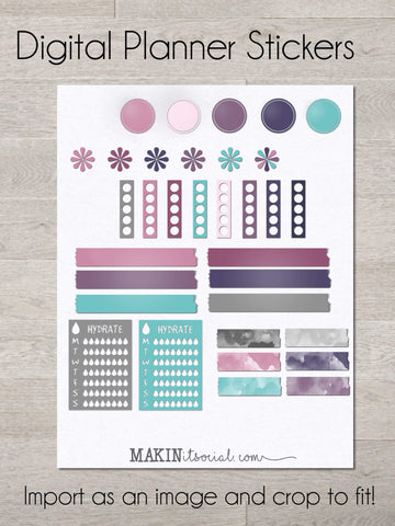 Planner Stickers List