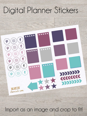 Planner Coordinating Stickers