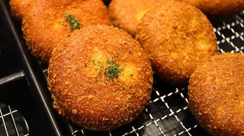 Superfood Rich Cricket Protein Croquettes made with ChirpNation Gluten-Free Cricket Powder