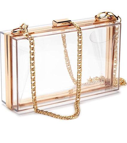 Crystal Clear Clutch