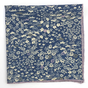 Kyoto Japanese Silk Pocket Square