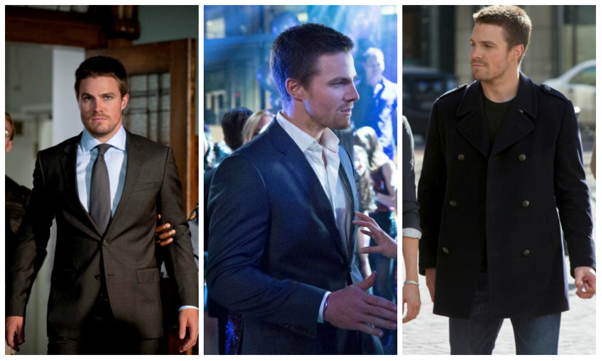 Oliver Queen, Stephen Amell, Arrow, Suits