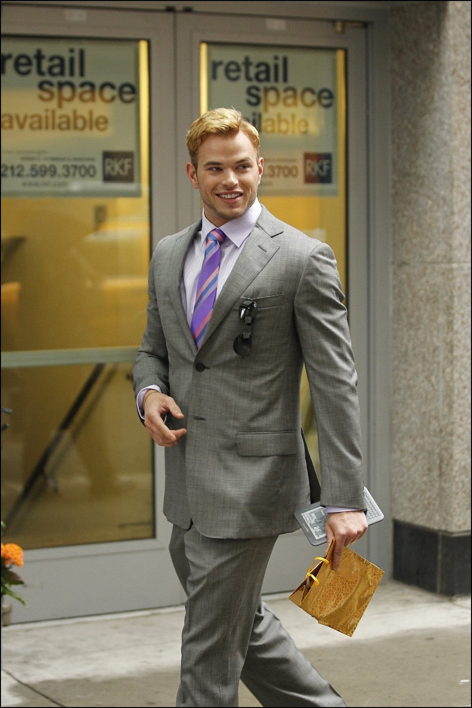 The Suits of Kellan Lutz