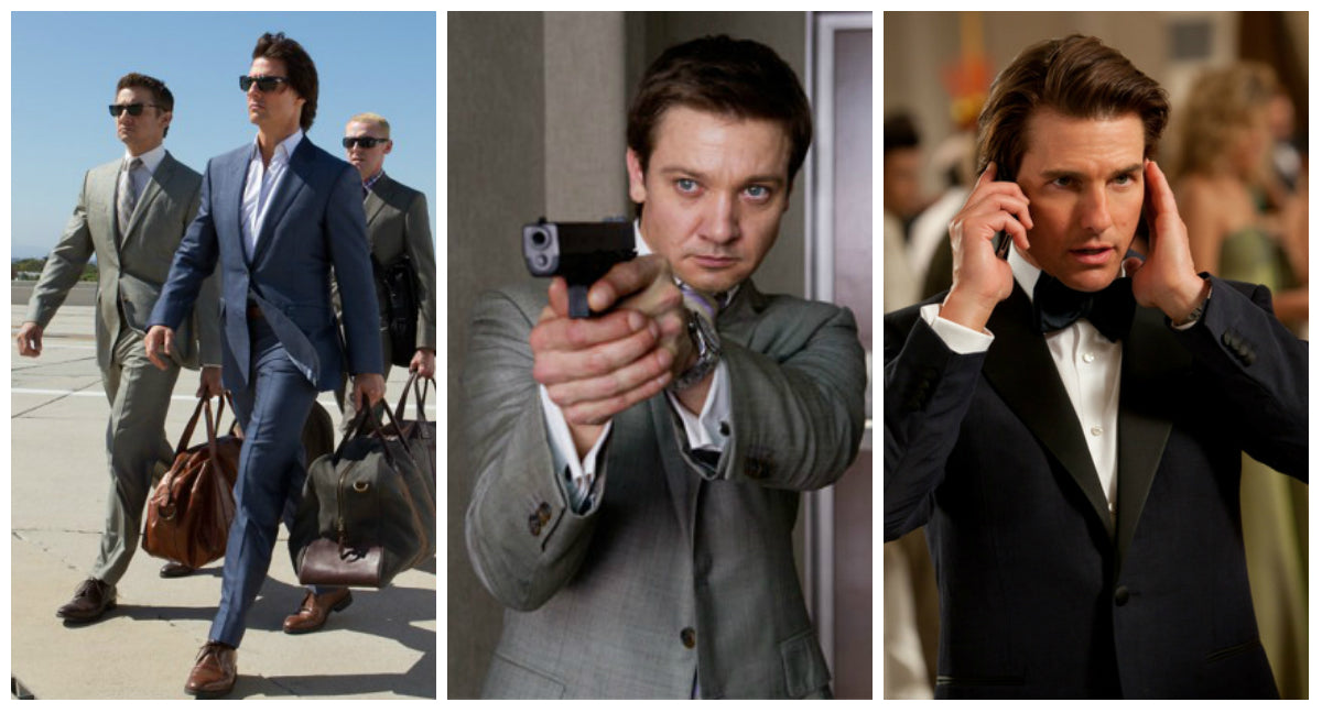 Mission Impossible 4: Ghost Protocol Tom Cruise, Ethan Hunt and Jeremy Renner Suits