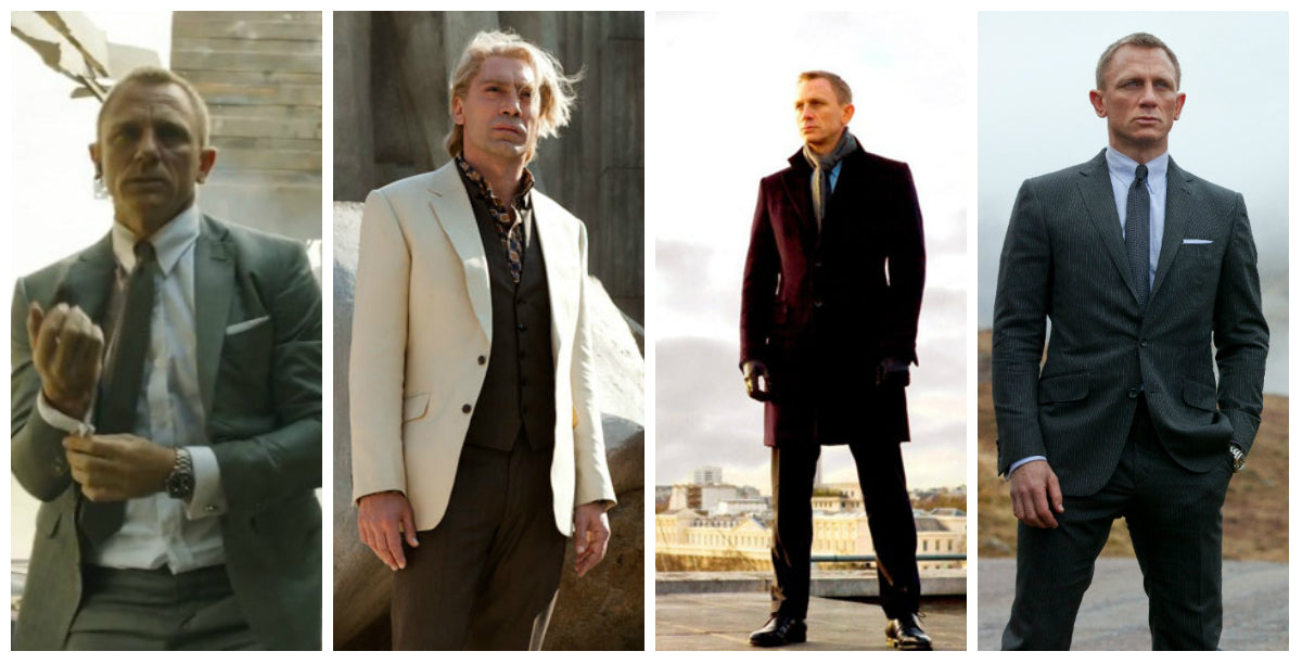The Suits Of James Bond Skyfall Tailor On Ten