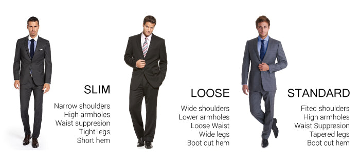 The Fit For You Slim Loose Or Standard Tailor On Ten