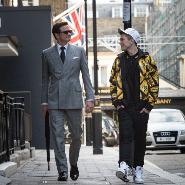 LR: Tailor On Ten Suits of Kingsman