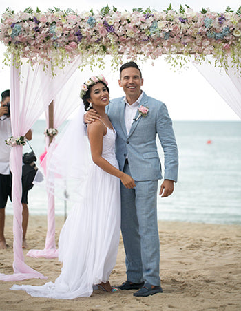 Beach Wedding Koh Samui Suit