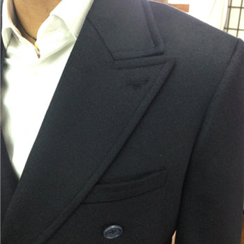 Black Wide Lapel Lee