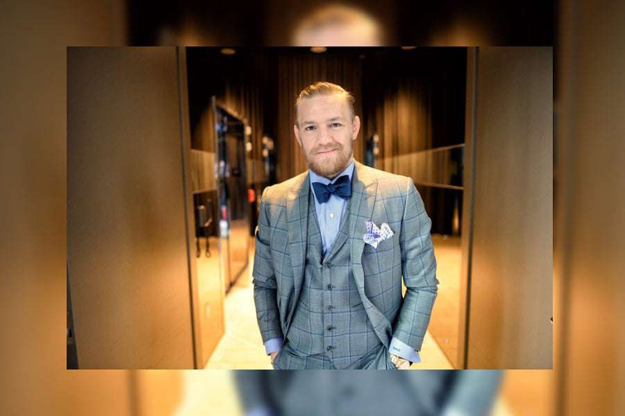 On The Mcgregor Tailor Ten Conor Of Suits XXUpqz
