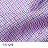 Thomas Mason Blue and Pink Check