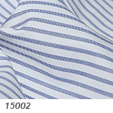 Thomas Mason Blue and White Stripe