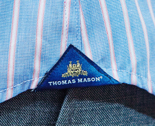 Thomas Mason Shirt Gusset