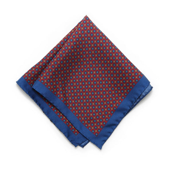Cranberry Palermo Pocket Square
