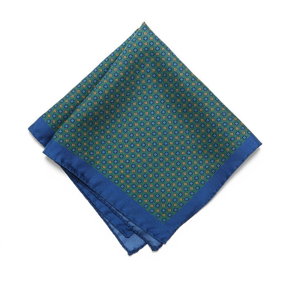 Jade Palermo Pocket Square