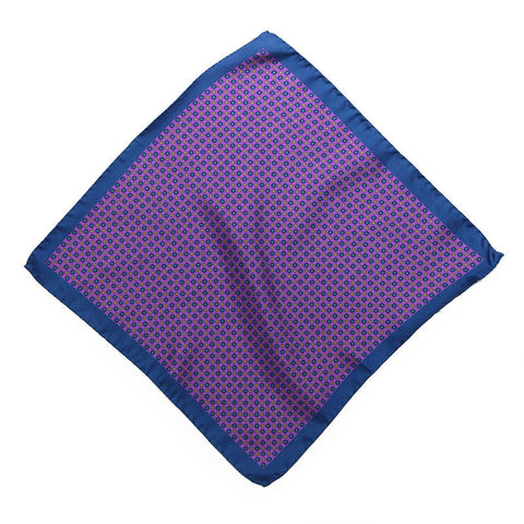 Violet Palermo Pocket Square