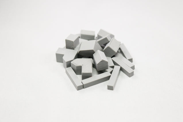 Settlers of Catan Pieces 3D Print Base Set of Replacement Pieces