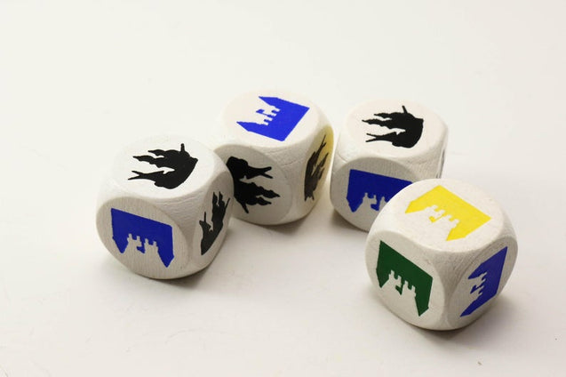 Settlers of Catan Cities and Knights Events Dice
