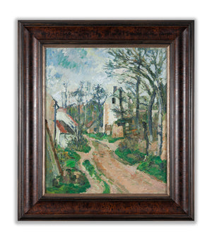 Road at Auvers-sur-Oise by Cézanne