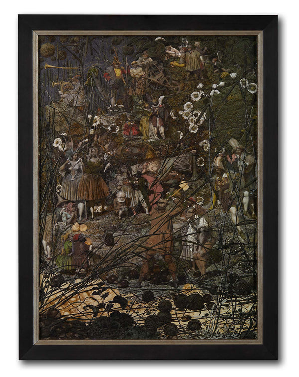 Fairy Feller Master Stroke Textured Art Print