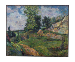 The Quarries of Le Chou near Pontoise by Gauguin