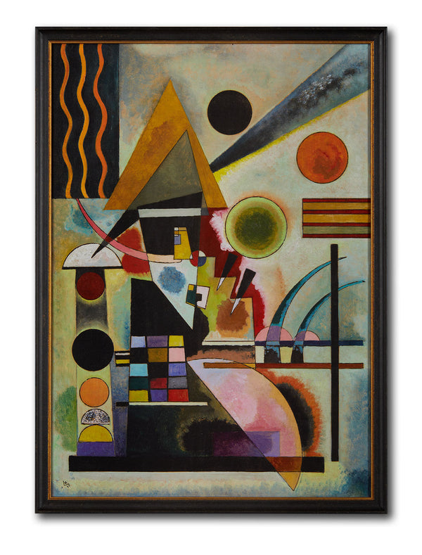 Kandinsky - Swinging Textured Art Print