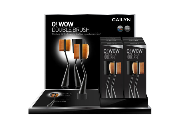 O! WOW DOUBLE BRUSH SPA SPECIAL DISPLAY