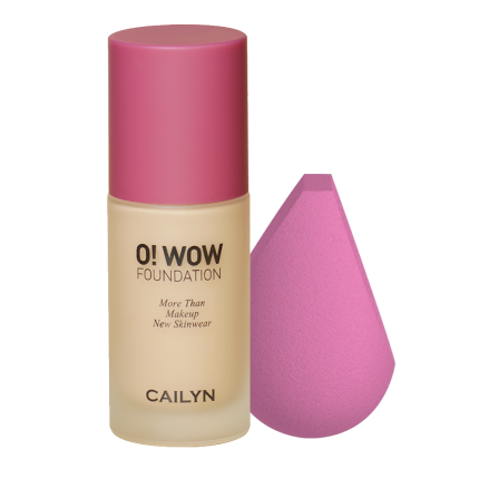 O! WOW FOUNDATION + O! WOW BRUSH BLENDER KIT