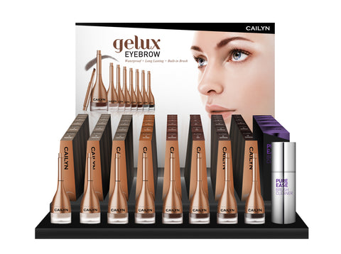 GELUX EYEBROW DISPLAY - LARGE