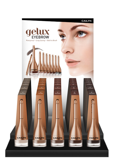 GELUX EYEBROW SMALL DISPLAY SET