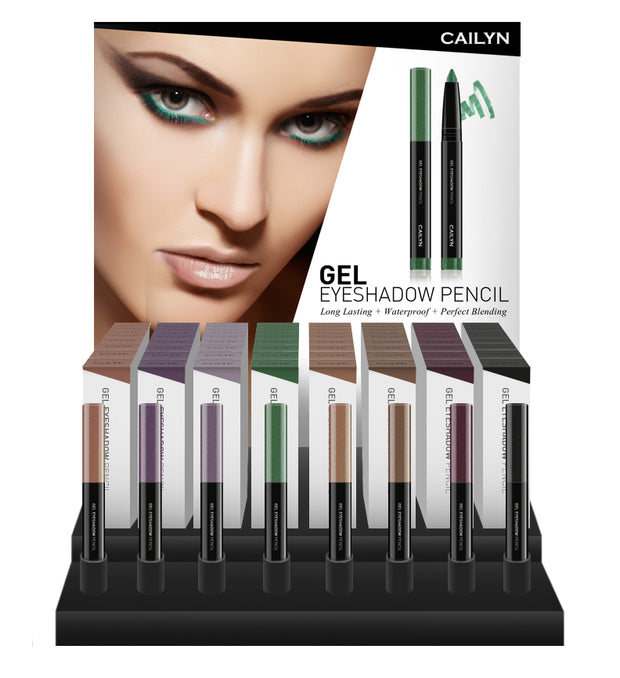 GEL EYESHADOW PENCIL DISPLAY SET
